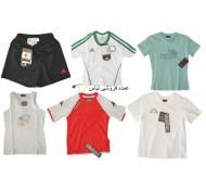 علامت های تجاری ورزشی ترکیبی از پیراهن ها و تی شرت، مانند آدیداس، نایک، کاپا، ریباک, adidas, reebok, nike, kappa