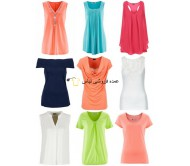 Women Summer Mix of Tops and T-shirts