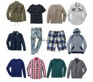 لباس بسته مخلوط مردانه - پیراهن کاپشن پیراهن لباس پیراهن و غیره