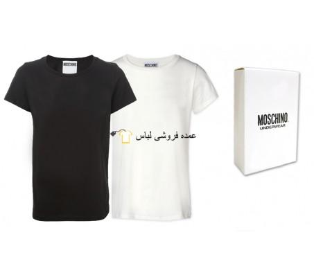 موسچینو تی شرت مردانه ترکیب سیاه Moschino