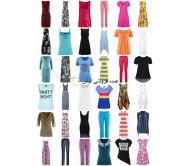 لباس stocklots است تابستان - پیراهن تاپس لباس زنانه شلوار