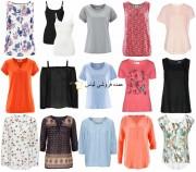 لباس تابستانی زنان لباس فروش تی شرت بلوز پیراهن تونیک لباس بالا لباس