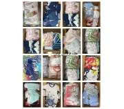 منسوجات کودک Stocklots تعداد زیادی از پالت لباس کودک