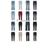 خانمها به علاوه حجم مد به علاوه اندازه شلوار جین بزرگ اندازه مخلوط سهام سهام