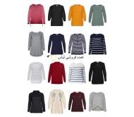 خانمها به علاوه حجم مد به علاوه حجم پلوور پلوور لباس بافتنی اندازه بزرگ باقی مانده مخلوط سهام