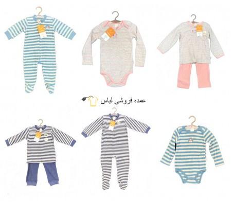 لباس نوزاد زمستانه بچه نساجی لباس خواب لباس بدن لباس