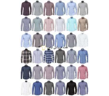 پیراهن مردانه پیراهن مارک تجاری پیراهن آستین بلند گاه به گاه