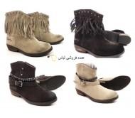 کفش های کودکان را باز کنید چکمه های زمستانی چکمه های زمستانی را باز کنید