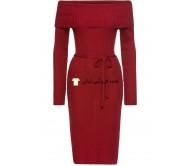 لباس گریم لباس خانم های سرخ کارمن گردن لباس