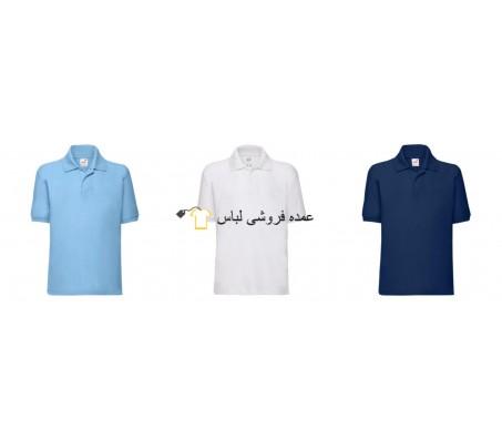 میوه از بچه ها Loom بچه Polos Uni Polo پیراهن مخلوط