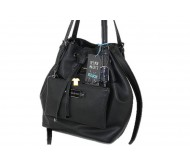 کیف دستی زنانه کیف شانه کیف چمدان کیسه های باقی مانده سیاه و سفید