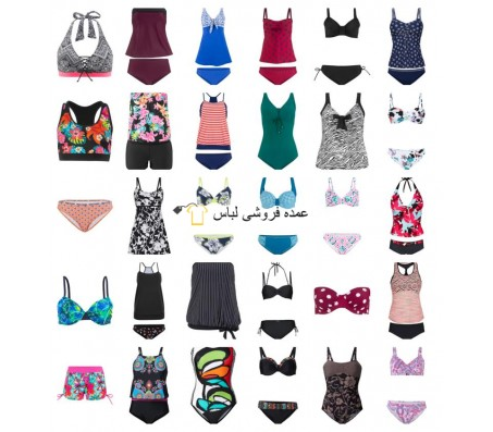 Swimwear زنان Tankinis Bikinis Swimwear Beach Fashion Mix