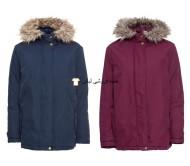 ژاکت زمستانی خانم ها ژاکت در فضای باز آبی قرمز