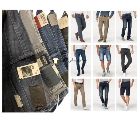شلوار مردانه شلوار جین مخلوط پخش تامی Hilfiger لی تام خیاط و غیره