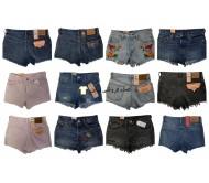 Levis Jeans Shorts زنانه مارک های شلوار Jeans Mix شلوار جین