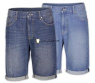 شلوار جین مردانه شلوار جین برمودا