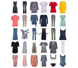 لباس تابستانی زنان باقی مانده مخلوط مد سهام