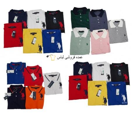 پولو Assn ایالات متحده مخلوط پیراهن مردانه Poloshirt Uni Stripped Men Polos
