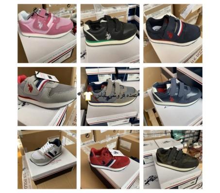 پولو Assn ایالات متحده کفش بچه گانه کفش ترکیبی کفش ورزشی