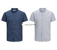 پیراهن های جک اند جونز پیراهن آستین کوتاه مردانه تابستانی