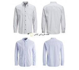 پیراهن های Jack & Jones پیراهن مردانه آبی سفید